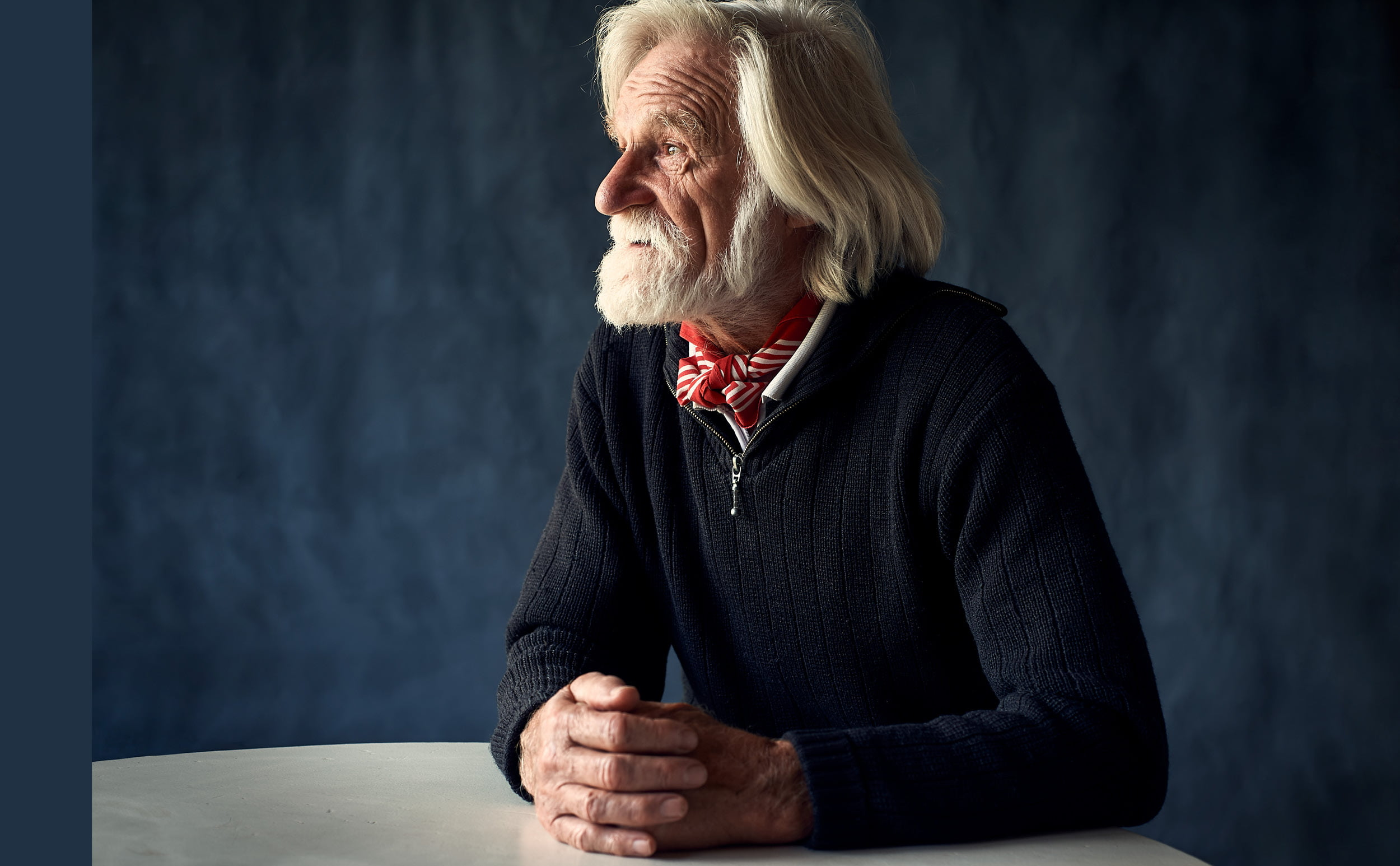 Portrait of Jean Bourgeois, Alpinist, Climber, Explorer, Writer and Musician