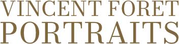Logo du site du photographe Vincent Foret spécialisé dans les portraits.